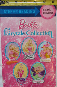 Barbie Step Into Reading Fairy tale Collection 5 in 1 Book