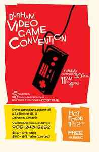 Durham Video Game Convention - Vintage Video Games - Oct 30