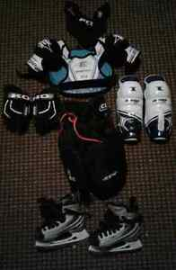 Hockey Equipment for Youth- ages 4 or 5