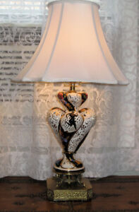 Vintage Capodimonte Table Lamp - Signed & Marked 332 Italy