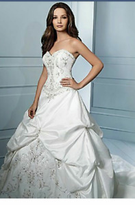 Never Worn Alfred Angelo Ball gown!