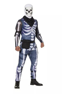 Halloween Costumes Spirt (Spirt Halloween Fortnite Skull Trooper Costume. Size Adult Medium)