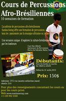 Cours de Percussions Afro-Brésiliennes!