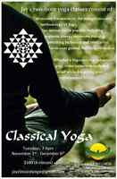 Classical yoga course/ classes, downtown Vancouver
