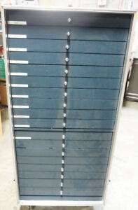 Frames CABINET DISPLAY eyeglass store 15 trays optical W/ wheels