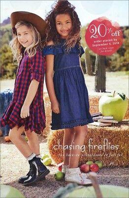 CHASING FIREFLIES Children's Fashion Catalog Back to School 2018 GIRLS BOYS #2