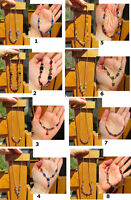 Hand Crafted Stone & Beads Necklaces - Different Colors City of Montréal Greater Montréal Preview