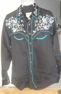 Vintage Men's Cowboy/Western shirt - Medium