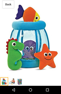 Melissa and Doug plush baby ocean toys