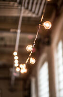 Commercial Grade Globe String Lights for Rent