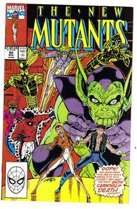 1990 THE NEW MUTANTS #92 Marvel Kitchener / Waterloo Kitchener Area image 1