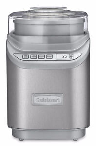 Cuisinart ICE-70C Gelato, Ice Cream and Sorbet Maker, Silver