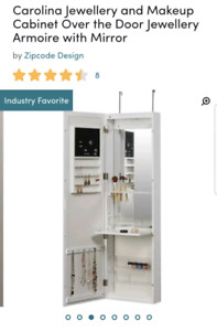 Jewelry and Makeup Cabinet
