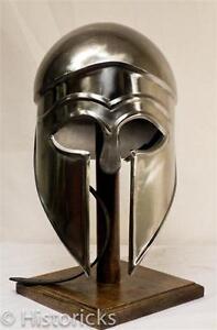 Greek Corinthian Helmet for re-enactment / larp / role-play / fancy-dress