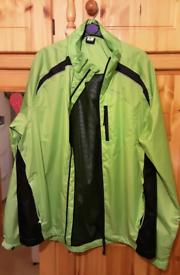 Hi-viz 'L' mens hiking/camping jacket