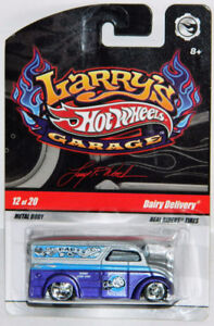 Hot Wheels Larry's Garage 1/64 Dairy Delivery Diecast Car