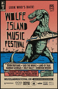 2 Wolfe Island Music Festival Weekend Passes with Camping