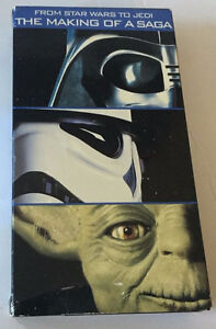 from Star Wars to Jedi The making of saga VHS (Rare)