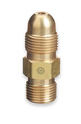 Western 51 Acetylene Adaptor Cga-300 To Cga-510 Commercial To Pol Regulator