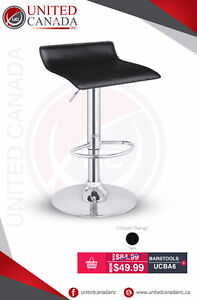 Synthetic Leather Bar Stools - FREE Delivery!!!