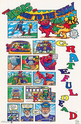 POSTER:MUSIC: THE GRATEFUL DEAD BEARS VINTAGE 1994 - FREE SHIP - #7199    RC3 D - The Grateful Dead Bears