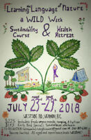 Detox Health Retreat and Sustainability Course! July 23-29 2018