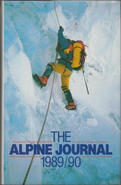 The Alpine Journal 1989 : Ernst Sondheimer