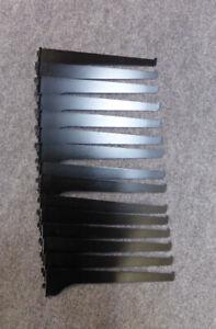 15 Black Shelving Brackets - 10inch