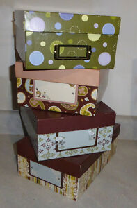 9 decor boxes $ 2 each or discount for multiples Kitchener / Waterloo Kitchener Area image 2