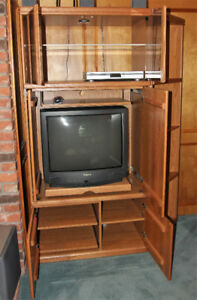 Palliser Entertainment Centre - excellent condition