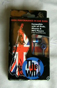"""Collectors - Official: """"The Who"""" Earphones - Only $10!"""