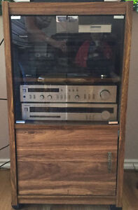 COMPLETE-Stereo System w/Cabinet