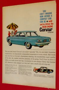 COOL 1960 CHEVY CORVAIR 700 DELUXE SERIES AD - VINTAGE CHEVROLET