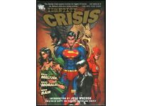 DC Comics Mint Condition First Printing Hardcover Graphic Novel Identity Crisis Brad Meltzer