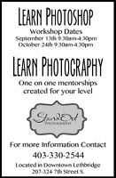 WORKSHOP- Introduction to Photoshop!!