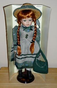 Anne of Green Gables Doll .. Like NEW .. In original box Cambridge Kitchener Area image 2