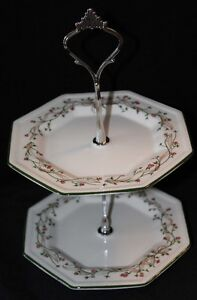 SMALL TWO TIER CAKE STAND