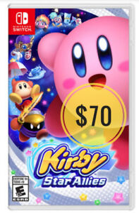=== NEW Nintendo Switch Kirby or Mario Rabbids game ===