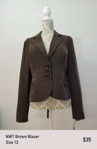 NEW Women's Blazer Size 12 (Nine West)