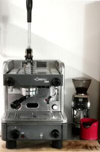 Steampunk Manual Lever Espresso Machine Cimbali M20