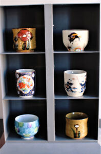 Japanese Sake Cup/Tea Cup Collection