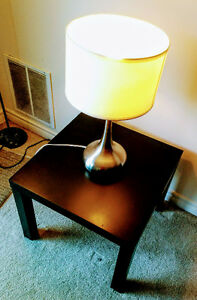 Coffee Table with New Lampstand