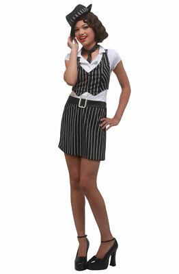 Gangster Costume Girl (Mobster Gangster Girl Teen)