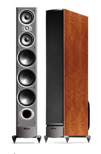 Polk Audio RTi12 CHERRY Floorstanding Loudspeakers [NEW/PAIR]