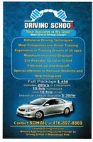drving school / Spring Special