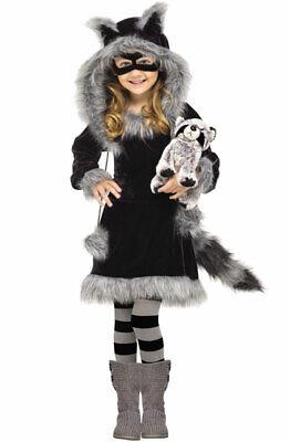 Sweet Raccoon Toddler Halloween Costume