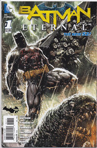 Batman Eternal #1-30 all near-mint, never read, bags/boards DC