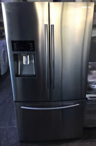 Samsung stainless French door bottom freezer water&ice $1499