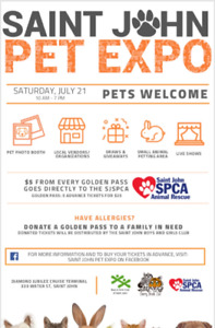 FREEEEE Give-a-ways @sjpetexpo Saint John Pet EXPO
