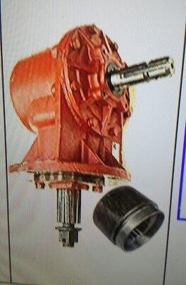 Universal Fit 75hp Rotary Cutter Gearbox 6 Spline Input Shaft 11.93 Ratio